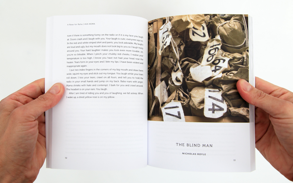 The Blind Man by Nicholas Royle from Still Negative Press London