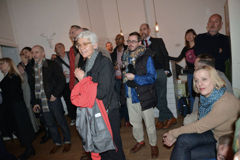 Strong Room launch Soho Collective Jane Wildgoose Roelof Bakker