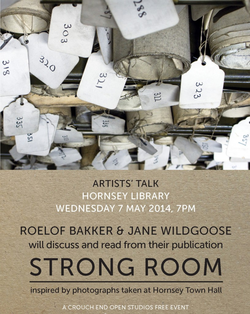 Strong Room talk Hornsey Library